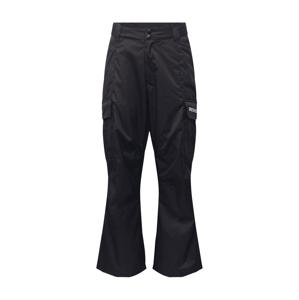 DC Shoes Outdoorové kalhoty 'Banshee'  černá / bílá