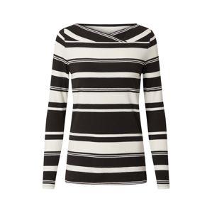 Esprit Collection Tričko 'Noos'  bílá / černá