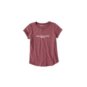 Abercrombie & Fitch Tričko  bledě fialová