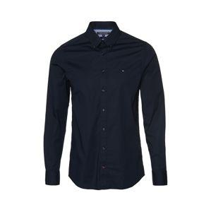 TOMMY HILFIGER Společenská košile  tmavě modrá