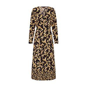 ONLY Košilové šaty 'YVENERA'  tmavě žlutá / černá