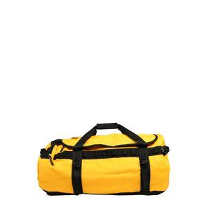 THE NORTH FACE Sportovní taška  černá / zlatě žlutá