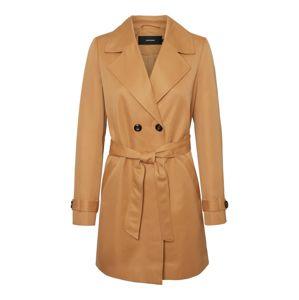 VERO MODA Přechodný kabát  světle hnědá / béžová