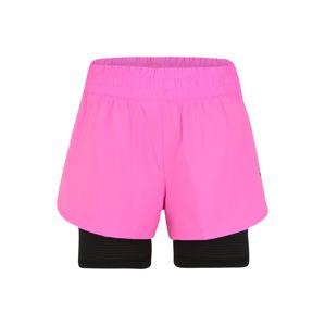 PUMA Sportovní kalhoty 'Favorite'  černá / pink