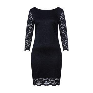 VILA Pouzdrové šaty 'ELLIS'  černá