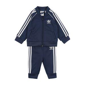ADIDAS ORIGINALS Tepláková souprava 'Superstar Suit'  bílá / marine modrá