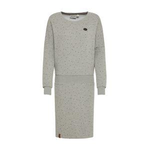 naketano Šaty  šedý melír
