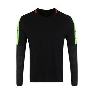 NIKE Funkční tričko  limetková / červená / černá