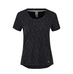 Marika Funkční tričko 'SPACE DYE TEE'  černá / šedá