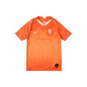 NIKE Funkční tričko 'KNVB Y NK BRT STAD JSY SS HM'  oranžová