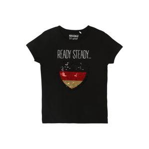 STACCATO Tričko  černá