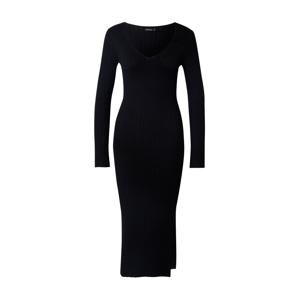Rut & Circle Úpletové šaty 'ZANDY'  černá