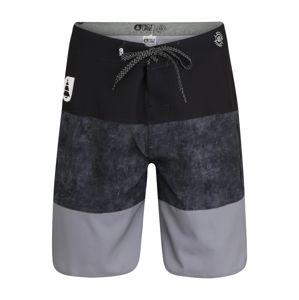 Picture Organic Clothing Sportovní plavky  tmavě modrá / šedá / černá