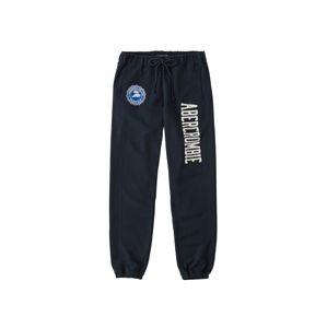 Abercrombie & Fitch Kalhoty  námořnická modř / bílá