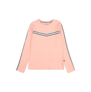 LEMON BERET Tričko  růžová / tmavě zelená / stříbrná / bílá