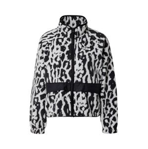 Nike Sportswear Funkční fleecová mikina  černá / šedá / bílá