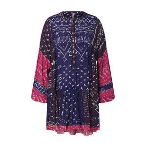 Free People Košilové šaty 'SHIBORI TUNIC'  modrá / malinová
