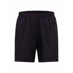 ADIDAS PERFORMANCE Sportovní kalhoty  svítivě zelená / černá